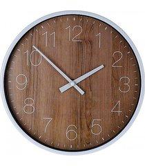 zegar wiszący wood