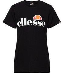 el malia tee jnr t-shirts short-sleeved svart ellesse