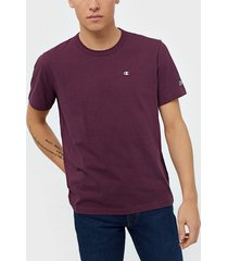 champion reverse weave crewneck t-shirt t-shirts & linnen burgundy
