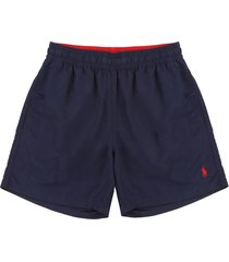 short baño newport navy polo ralph lauren unicolor  ppc