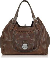 robe di firenze designer handbags, brown italian leather tote