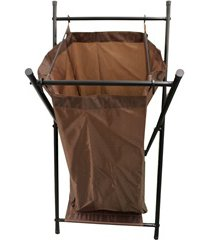 cesto de roupas simples em tnt 71,5x44cm marrom