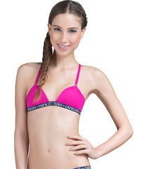 sutiã costas nadador rosa pink capricho college | 520.011