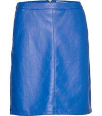 sl tamara pu skirt kort kjol blå soaked in luxury