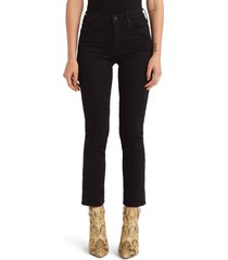 women's mother the dazzler ankle straight leg jeans