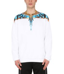 marcelo burlon crew neck sweatshirt