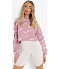 korte woman sweater, lilac
