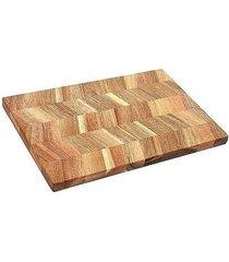 deska kuchenna do krojenia z drewna tekowego teca