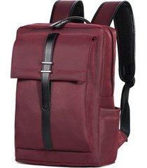 mochila para hombre, mochila de negocios mochila con-rojo