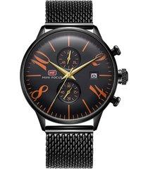 reloj análogo f0135gs-8 hombre negro