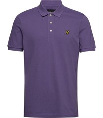 polo shirt polos short-sleeved lila lyle & scott
