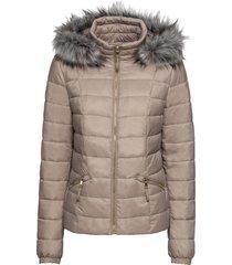 giacca trapuntata con cappuccio (marrone) - bodyflirt