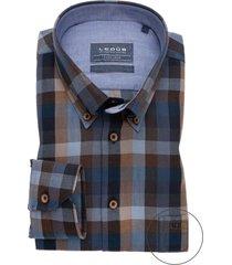 ledub overhemd geruit modern fit