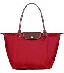 bolsa de hombro plegable bolso 1899089 para mujer-rojo