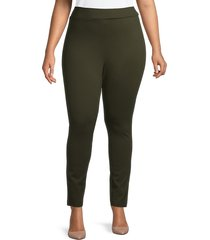 maree pour toi women's compression pants - olive - size 14