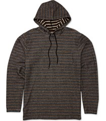 billabong men's knit stripe hoodie