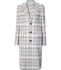 classic single-breasted coat