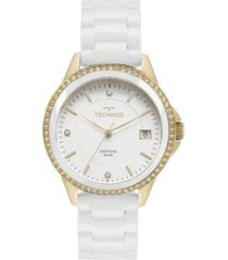 relógio feminino technos elegance 2315kzs/4b