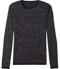 blusa john john tricot jasper cinza mescla masculina (cinza mescla escuro, gg)