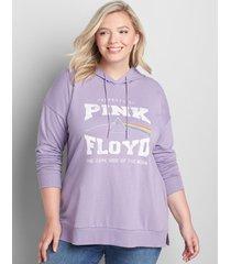lane bryant women's pink floyd graphic hoodie 18/20 dusk