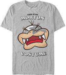 nintendo men's super mario morton halloween costume short sleeve t-shirt