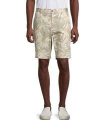 french connection men's bamboo tree-print bermuda shorts - forest night - size 28