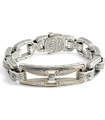 men's konstantino stavros spinel chain bracelet