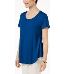 jm collection scoop-neck top, created for macy's