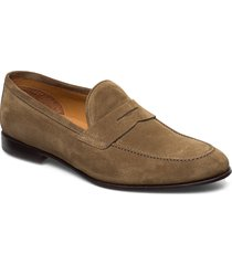 footwear mw - f359 loafers låga skor brun sand