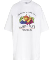 vetements cutest of the fruits t-shirt