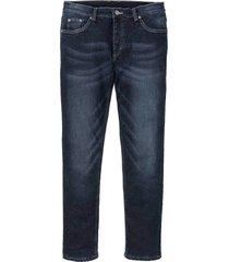 jeans termici elasticizzati slim fit straight (blu) - rainbow