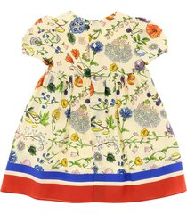 gucci dress with floral festival print