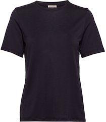amatta t-shirts & tops short-sleeved blå by malene birger