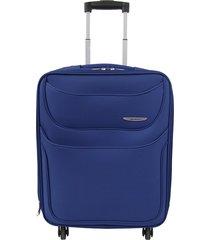 "maleta de viaje mediana runner 24"" azul - explora"