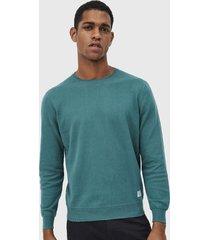 sweater pepe jeans donny verde - calce regular