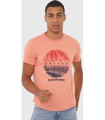 camiseta malwee havana laranja
