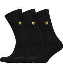 hamilton underwear socks regular socks svart lyle & scott