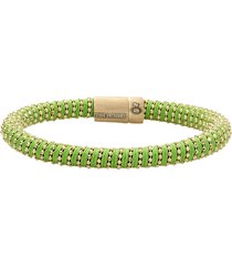 green twister band bracelet