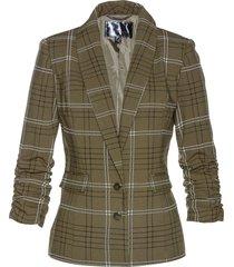blazer a quadri (verde) - bpc selection
