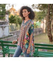 sundance catalog women's magdalene poncho xs