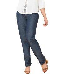 pantalon gleen azul para mujer croydon