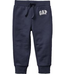 buzo toddler boy jogger logo azul gap