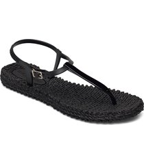 flip flops shoes summer shoes flat sandals svart ilse jacobsen
