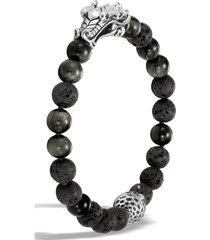 men's john hardy men's legends naga bead bracelet