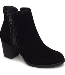 womens taxi - accolade shoes boots ankle boots ankle boot - heel svart skechers