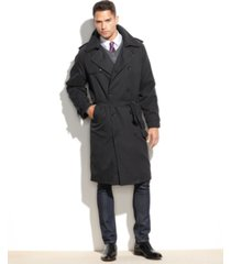 london fog iconic belted trench raincoat