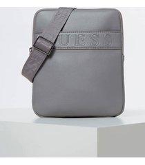mała torba typu crossbody z tłoczonym logo model dan