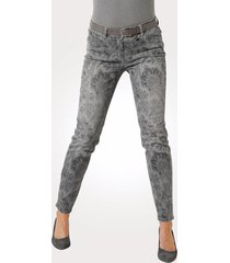 jeans toni grijs::antraciet