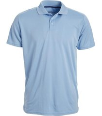 galaxy by harvic men's tagless dry-fit moisture-wicking polo shirt