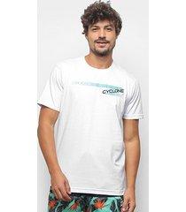 camiseta cyclone seta silk masculina - masculino